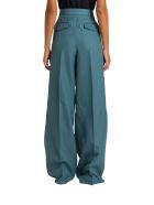Acne Studios Double Pleated Trousers - Verde
