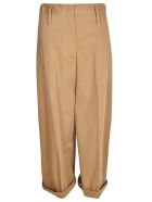 Tela 9 Classic Oversized Trousers - Brown