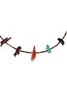Jessie Western Short Single Strand Honey Necklace - Multicolor