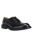 Bottega Veneta Varenne Leather Derby Shoes - Nero