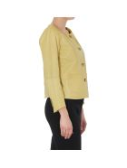 Bully Leather Jacket - Yellow