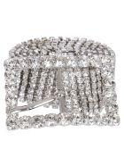Alessandra Rich Crystal Embellish Belt - Basic