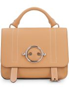 J.W. Anderson Disc Leather Handbag - brown