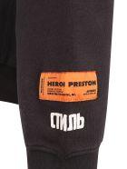 HERON PRESTON Hoodie - Off black