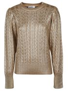 MSGM Knitted Sweater - gold