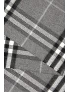 Burberry Giant Check Scarf - MID GREY (Grey)