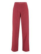 MICHAEL Michael Kors Printed Silk Pants - red