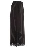 Antonio Marras Pinstripe Full Trousers - Nero Marrone