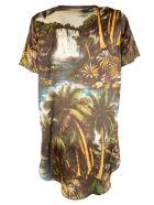 Shirt a Porter Oversized Printed T-shirt