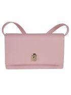 Furla Flap Front Classic Shoulder Bag - Pink