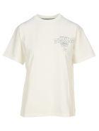 Golden Goose Texas Tour Print T-shirt - WHITE