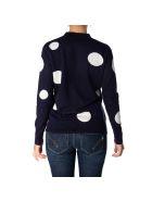 Sun 68 Wool And Cotton Cardigan - NAVY BLUE