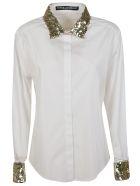 Dolce & Gabbana Embellished Shirt - Gold/White