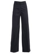 PS by Paul Smith Flared Trousers - Dk Na