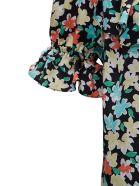 Saint Laurent Floral Silk Shirt With Ruffles Detail - Multicolor