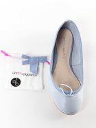 Anna Baiguera Bow Detail Ballerinas - Natur Cielo