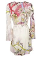 Etro Floral Print Long-sleeved Dress - Basic