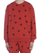 McQ Alexander McQueen 'swallow' Sweatshirt - Red