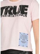 McQ Alexander McQueen Freedom T-shirt - PINK CLAY