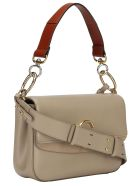 Chloé Chloè Leather Shoulder Bag - Motty grey