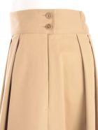 Aspesi Skirt Long W/pleats - Coloniale