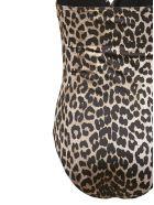 Ganni Leopard Print Swimsuit - Maculato