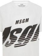 MSGM Kids T-shirt - White