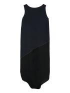 Fabiana Filippi Draped Asymmetric Dress - blue