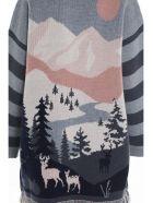 Alanui 'frozen Landscape' Cardigan - Multicolore