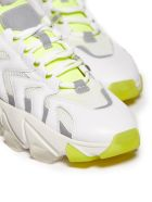 Ash Extreme Sneakers - Bianco grigio giallo fluo