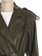 The Attico Coat - Green