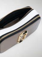 Marc Jacobs Snapshot Crossbody Bag With Logo - Grey