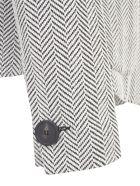 Emporio Armani Chevron Elastic Jacket - Bianco