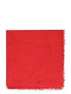Faliero Sarti New Enrica Cashmere And Silk Scarf - red