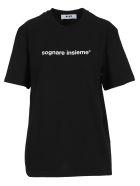 MSGM Tshirt Sognare Insieme - Black