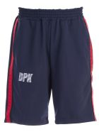Danilo Paura Side Stripe Shorts - Blue Navy