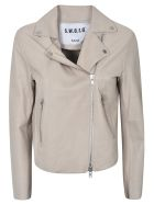 S.W.O.R.D 6.6.44 Leather Jacket - Beige
