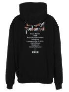 MSGM Hooded Fleece Scorpio - Black