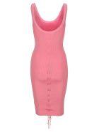 Helmut Lang Lacing Dress - PINK
