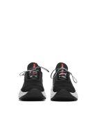 Prada Linea Rossa Lace-up Sneakers - Nero bianco