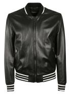 Dolce & Gabbana Zipped Bomber - Black