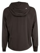 C.P. Company Short Zipped Hoodie - Black
