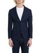 Tonello Textured Blazer - Blu