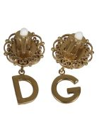 Dolce & Gabbana Crystal Embellished Earrings - Multicolor