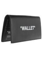 Off-White Off White Vertical Wallet - BLACK