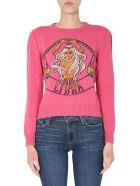 Alberta Ferretti Love Me Starlight Sweater - FUCSIA