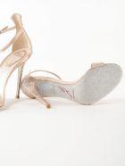 René Caovilla Rene Caovilla H105 Jet Strass Sandals - Nude