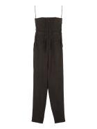 Dolce & Gabbana Long Wool Jumpsuit - black