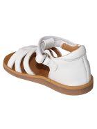 Pom d'Api Poppy Strap Sandals - White/Brown