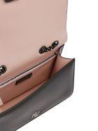 Salvatore Ferragamo Bow Detailed Shoulder Bag - Black